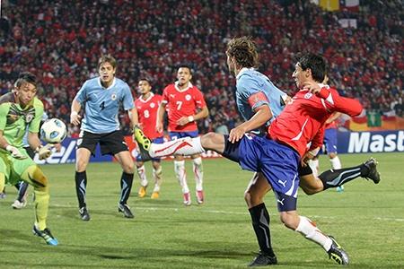 Chile vs Uruguay Eliminatorias Brasil 2014