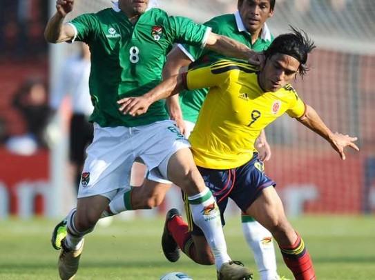 Colombia vs Bolivia Eliminatorias Brasil 2014