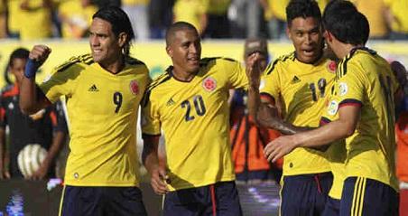 Venezuela vs Colombia Eliminatorias Brasil 2014