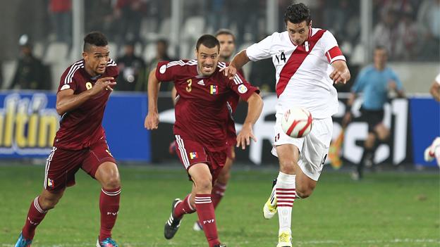 Venezuela vs Perú (3-2) Eliminatorias Sudamericanas Brasil 2014