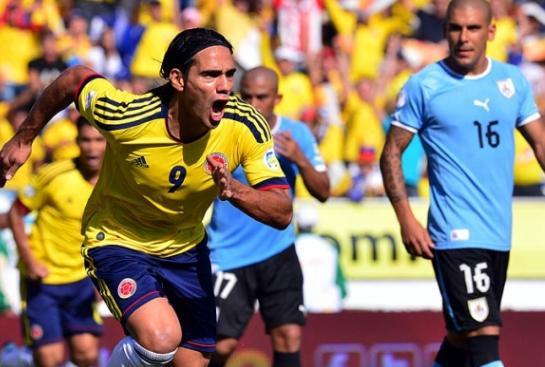 Resultado Uruguay vs Colombia (2-0), Eliminatorias Brasil 2014