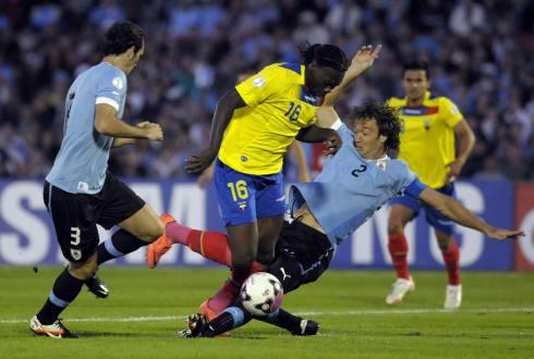 Ecuador vs Uruguay (1-0) Eliminatorias Sudamericanas Brasil 2014